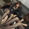 二人のデカイ女子がパンストでアナルを責めてます
